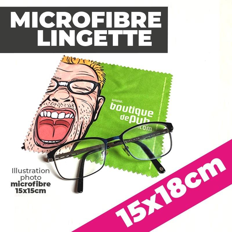 Lingette Microfibre 15x18
