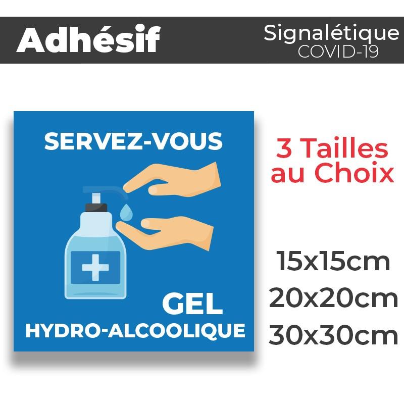 Adhesif- Covid-19_Gel-HydroAlcoolique