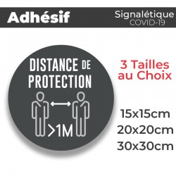 Adhesif- Covid-19_Distance de Protection