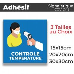 Adhesif- Covid-19_Contrôle Température