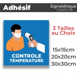 Adhesif- Covid-19_Temperature