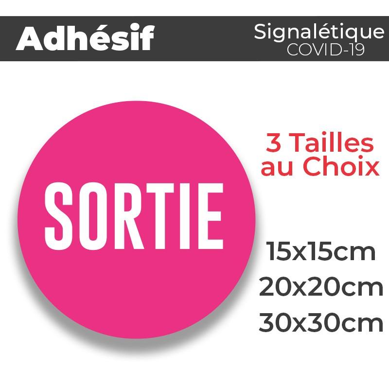 Adhesif- Covid-sortie