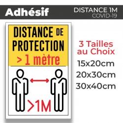 Adhesif- Covid-19_Distance de Protection