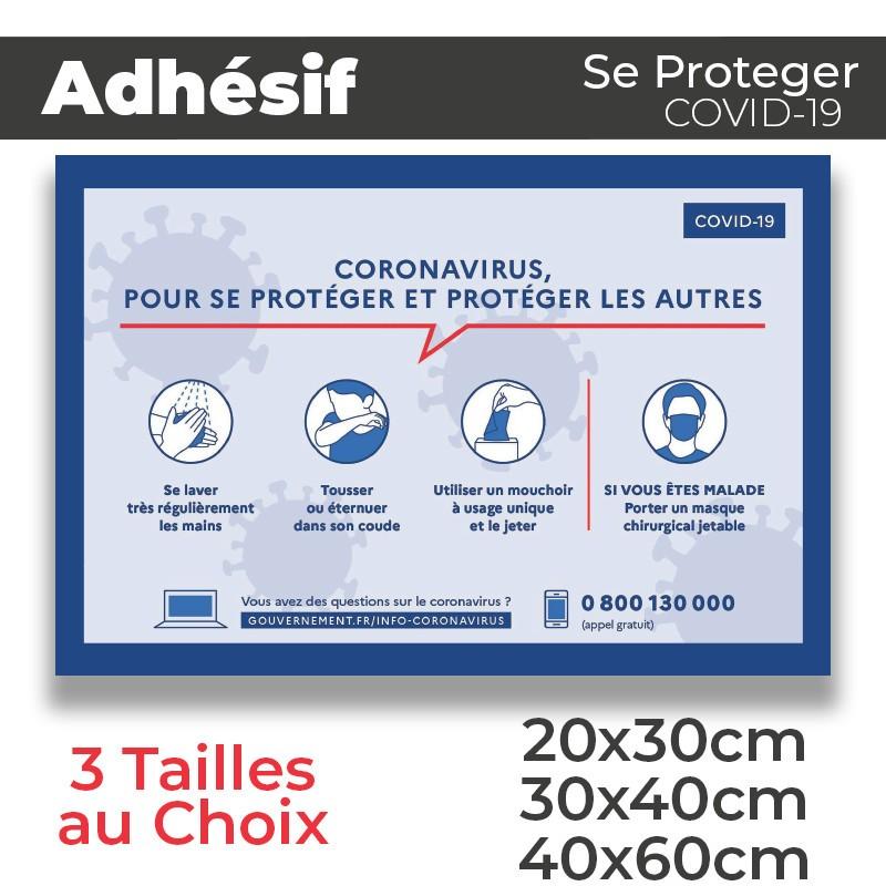 Adhesif- Covid-19_Se proteger