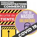Covid 19 Les Administrations et Commerces