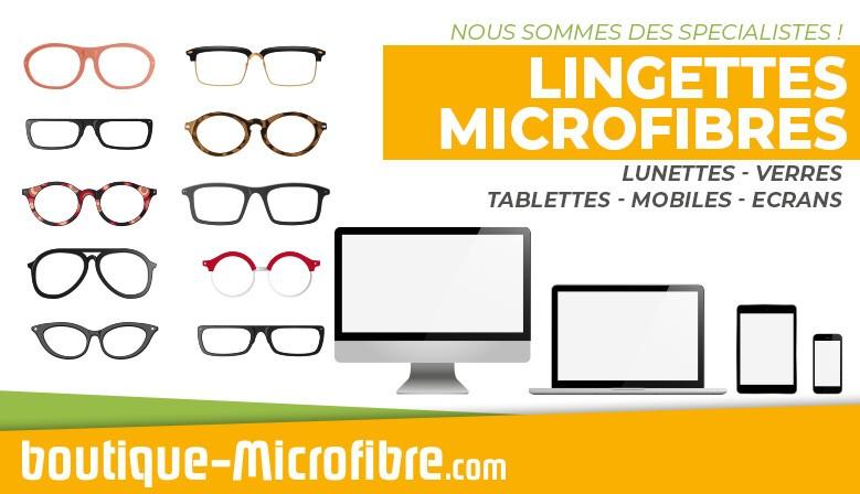 Microfibre et Lingette